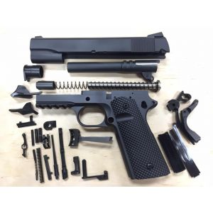 1911 TACTICAL 80% BUILDERS KIT BLACK YOUR CHOICE .45 ACP OR 9MM