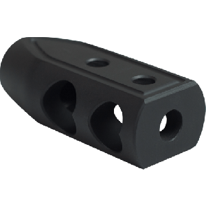 5.56/.223 HEART BREAKER MUZZLE BRAKE COLOR BLACK CERAKOTE