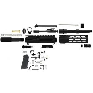 BUILDERS 25 PACK $264.99 PER KIT   AR-15 UNASSEMBLED PISTOL KIT 5.56 NATO 7.5
