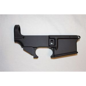 AR-15 Black Anodized Forged 5.56/.223/ 80% Lower Receiver