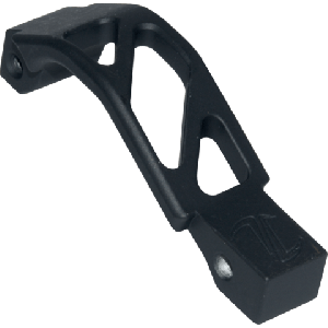 AR OVERSIZED TRIGGER GUARD AR OTG BLACK TYPE III HARD COST ANODIZED