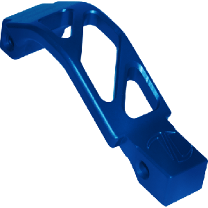 AR OVERSIZED TRIGGER GUARD AR OTG BLUE ANODIZED