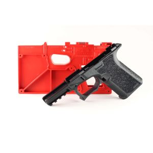 Polymer80 PF940C Compact 80% Pistol Lower Frame Rough Textured - BLACK 19, 23, 32