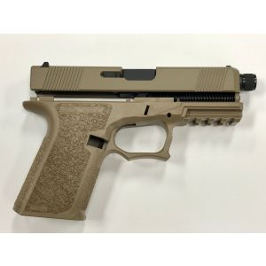 80% FDE G19 THREADED BARREL GEN3 FULL PISTOL BUILD KIT