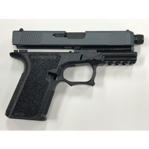 80% JESSE JAMES BLUE G19 THREADED BARREL GEN3 FULL PISTOL BUILD KIT