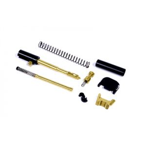 TiN Gold 9mm Slide Completion Kit, Compatible with G17, G19, G26 and G34 3rd Gen Glocks
