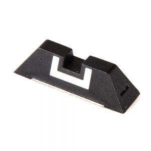 GLOCK PLASTIC FIXED REAR SIGHT 6.5MM, Glock 17/19/22/23/24/26/27/33/34/35/37/38/39