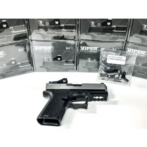 80% VORTEX VIPER GLOCK 19 COMPACT GEN3 FULL BUILD KIT WITH TRIJICON SUPPRESSOR NIGHT SIGHTS
