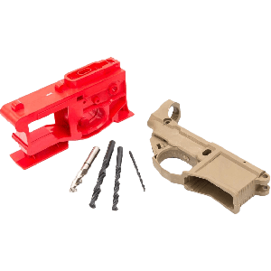 Polymer80 G150 80% Lower with Jig System - Flat Dark Earth