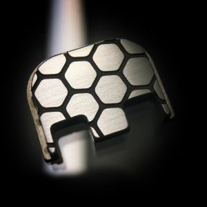 Titanium Honeycomb Back Plate