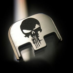 Titanium Rifle Skull Back Plate