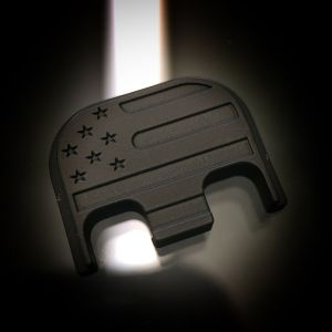 Cerakoted Stainless Steel BLACKOUT : American Flag