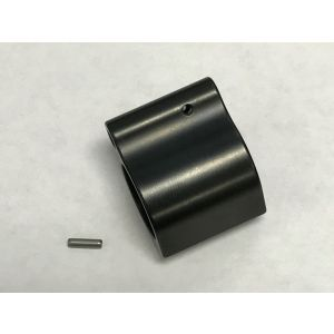PREMIUM U.S. Patriot Armory Low Pro .750 Steel QPQ Dark Black Nitride Finish Gas Block With Stainless Steel Roll Pin