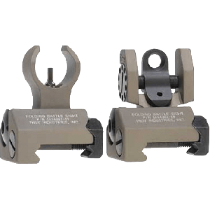 TROY BATTLESIGHT MICRO FRONTREAR - DESERT TAN
