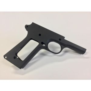80% 9mm Full Size Government Frame in series 70 Forged 4140 Steel Black