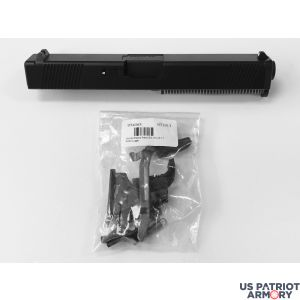 COMPLETE NEW STAINLESS STEEL BLACK NITRIDE G17 UPPER & GLOCK LOWER PARTS KIT