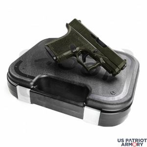 Polymer80 PF940SC OD Green Complete Patriot 26 80% Pistol Build Kit 9mm