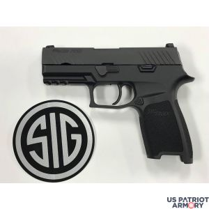 Sig Sauer 80% P320 Carry Double 357 Sig 3.9