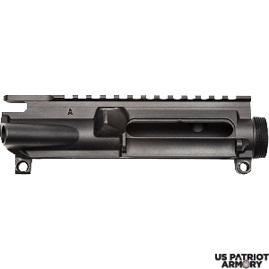AERO PRECISION AR15 Stripped Upper Receiver - Anodized Black T-Marked With M4- Feed Ramps