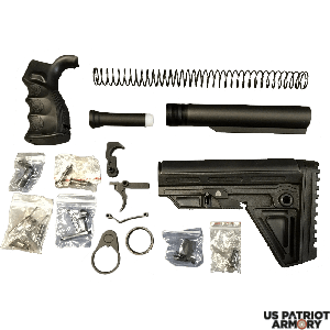 Alpha AR-15 Enhanced Lower Build Kit