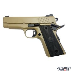 1911 TACTICAL OFFICER SIZE 80% BUILDERS KIT FDE 9mm
