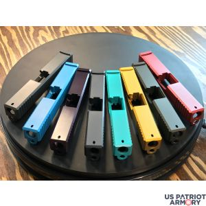 Pick Your Color Glock 19 Slides With Front And Rear Serrations