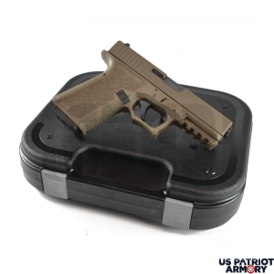 Polymer80 PF940V2 FDE Complete Patriot 17 80% Pistol Build Kit 9mm