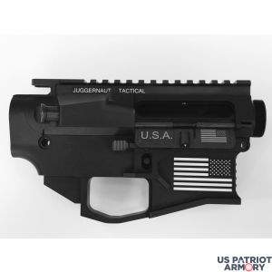 JUGGERNAUT TACTICAL AR-15 80% LOWER & UPPER BILLET COMBO