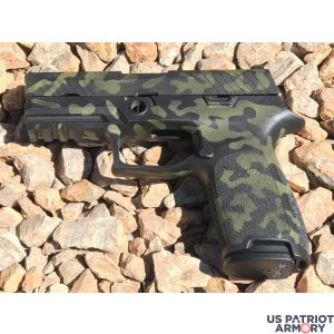 80% SIG SAUER P320 CARRY DOUBLE 9MM LUGER 3.9