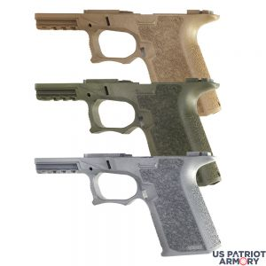POLYMER80 PF940C COMPACT 80% PISTOL LOWER FRAME ROUGH TEXTURED FDE, FLAT DARK EARTH, TACTICAL GRAY, OLIVE DRAB