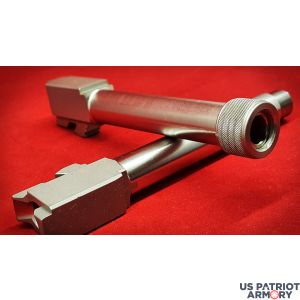 Glock 19 Match Stainless 9mm Threaded Barrel